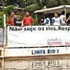 Barqueata ecológica reforça limpeza do Capibaribe