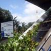 Ecobarreira do Canal de Sernambetiba inova com esteira rolante