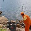 Mutirão retira mais de 34 toneladas de lixo da Baía de Vitória