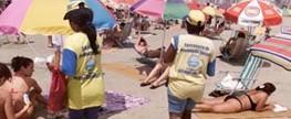 Praia Grande dá início à Operação Praia Limpa