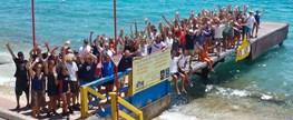 Bonaire Divers Take Action