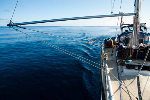 An OceanGybe Dispatch: Lessons leant from our trip through North Pacific Gyre on a small sailboat