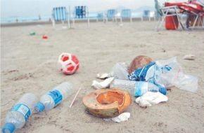 Santos registra mais lixo nas praias: quase 3 mil toneladas