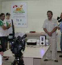 Praia Limpa é apresentado à imprensa