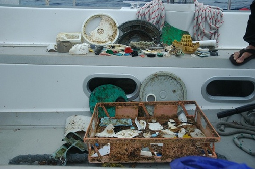 The Atlantic Garbage Patch