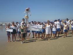 Secretaria de Meio Ambiente realizada projeto Cuide de Sua Praia com jovens do Praia Limpa