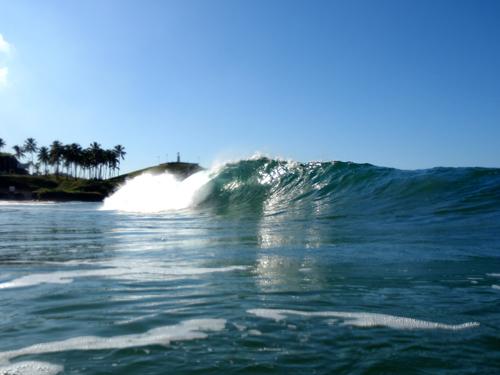 O surf é apaixonante. © Bernardo Mussi