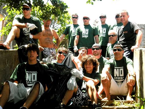 No Stress Oficial: Mão na massa! Mutirão de limpeza da Ilha do Presídio