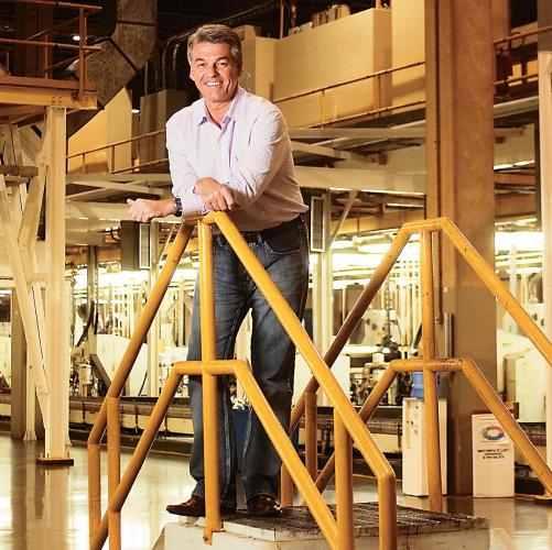 """Rinaldo Lopes, presidente: """"mercado de latas no país, que está importando, tem previsão de crescer por mais cinco anos"""". Foto: Davilym Dourado/Valor"""