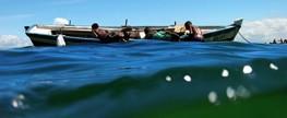 Capitania dos Portos realiza mutirão de limpeza no rio Potengi, em Natal